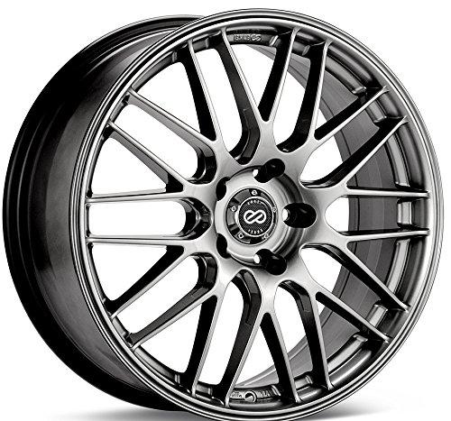 18x7.5 Enkei EKM3 (Hyper Silver) Wheels/Rims 5x100 (442-875-8045HS) (Hyper Wheel Silver)