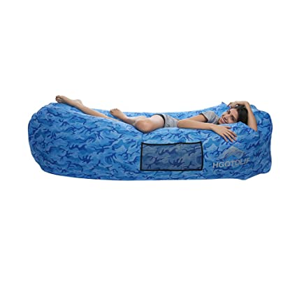 Amazon.com: HGOTDLIF - Sillón hinchable portátil para sofá ...