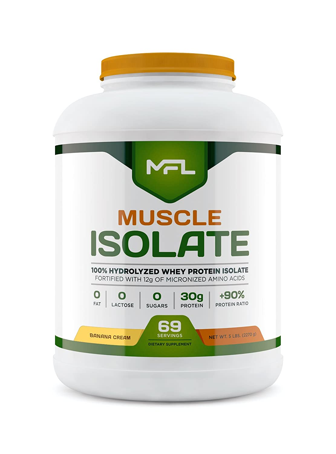Amazon.com: Muscular, alimentos Labs aislar, 5 pounds, 1 ...