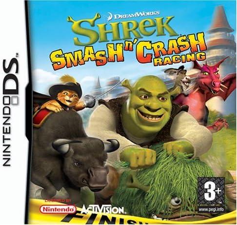 Shrek Smash N Crash Racing (Nintendo DS) by ACTIVISION: Amazon.es: Videojuegos