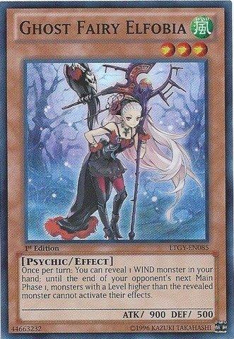 Yu-Gi-Oh! - Ghost Fairy Elfobia (LTGY-EN085) - Lord of the Tachyon Galaxy - 1st Edition - Super Rare