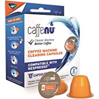 Pack of 5 CAFFENU NESPRESSO Compatible COFFEE MACHINE CLEANING CAPSULES
