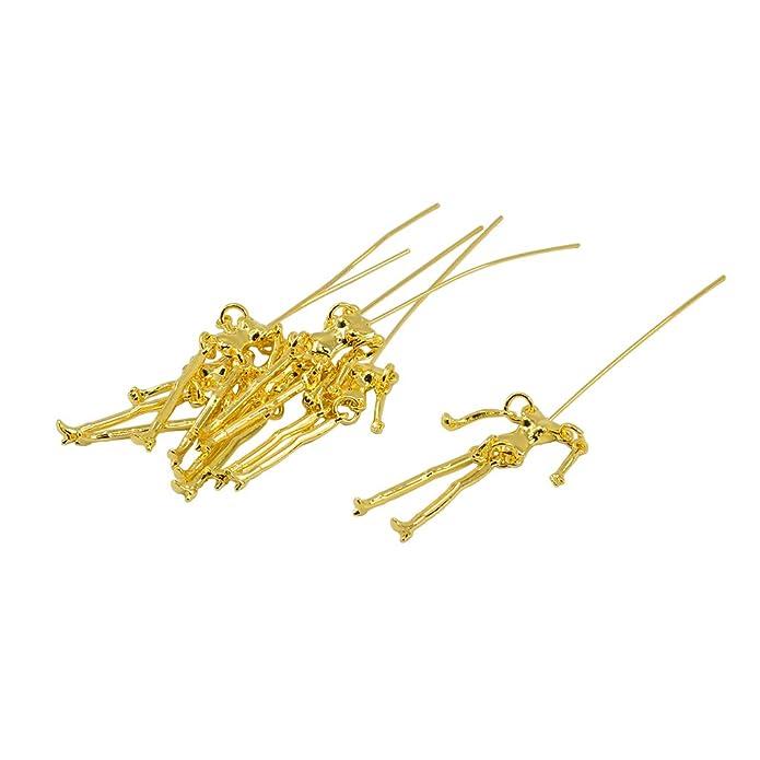 Sharplace 6 Stücke Menschlichen Skelett Körper Form Anhänger ...