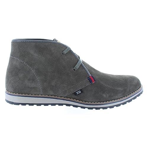 Botines de Hombre XTI 45959 SERRAJE GRIS Talla 43: Amazon.es: Zapatos y complementos