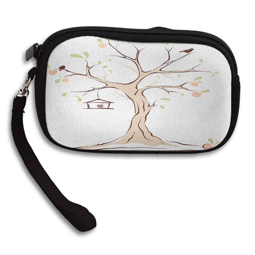 Amazon.com: Tree of Life Coin Purse Money Bag Mature Apple ...