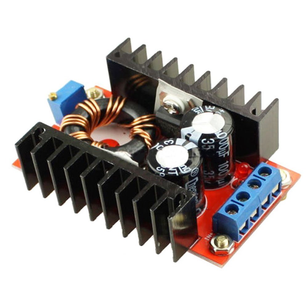 Gowoops 5pcs 150w Dc 10 32v To 12 35v Step Up Boost Circuit 12v 19v Laptop Power Supply Concept Circuits Designed Converter Module Adjustable Voltage Computers Accessories