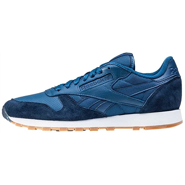 e7b1f0bb799a86 Reebok Classic Leather SPP - Noble Blue College Navy  Amazon.co.uk  Shoes    Bags