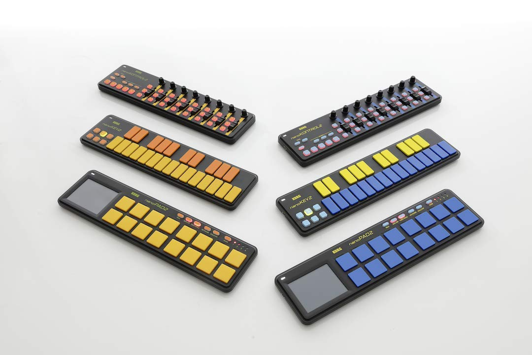 Korg nanoKEY2 Keyboard Controller - Orange/Green Limited Edition by Korg (Image #3)