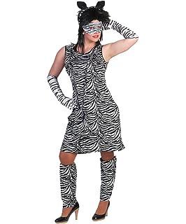 Karneval Klamotten Zebra Kostüm Damen Zebra Kleid Damen Mit