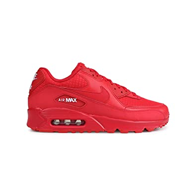 official photos a7010 833cc Nike Air Max 90 Essential, Chaussures d Athlétisme Homme, Rouge (University  Red