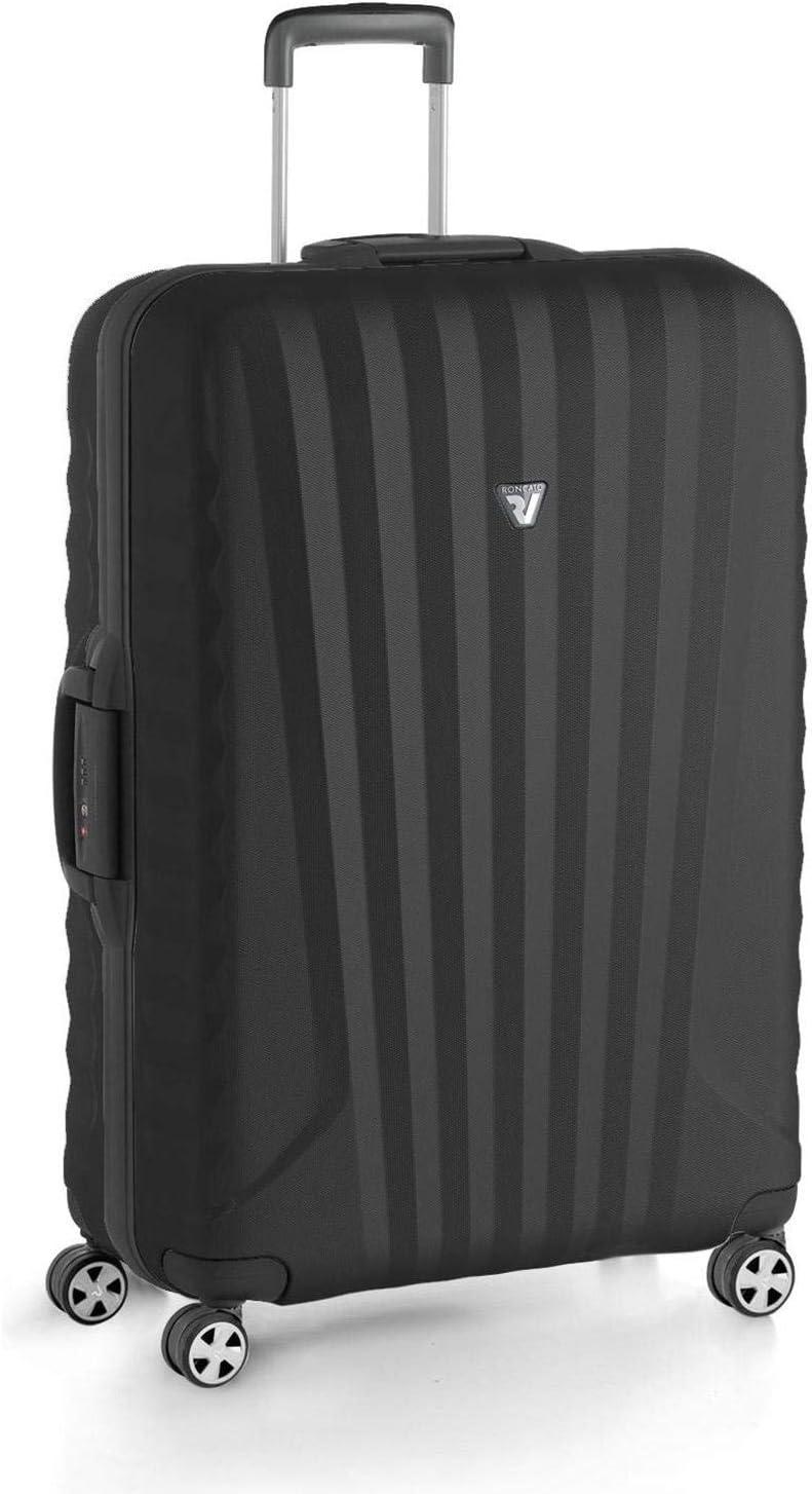 Roncato Maleta Grande L Uno SL Premium - cm. 79 x 52 x 27 Capacidad 122 L, Ligero, Organización Interna, Cierre TSA, Garantìa 10 años