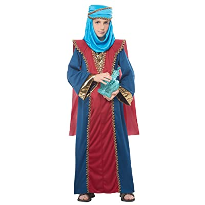 California Costume Balthasar, Wise Man Child Costume: Toys & Games
