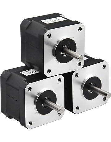 MOONS NEMA14 Stepper Motor Steel and Rubber Vibration Dampers for CNC,3D Printer Hobby