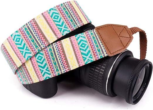 Vintage Neck Shoulder Strap Belt for DSLR Camera Binoculars Nikon Canon Sony UK