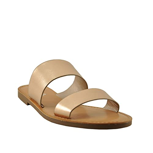 14e42c93a418 Soda Allie-S Women s Open Toe Double Strap Sandals (6