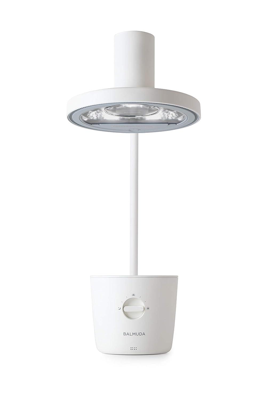子どもの目を守る バルミューダ 太陽光LEDデスクライト BALMUDA The Light L01A-WH(ホワイト) B07GP4QG9C ホワイト