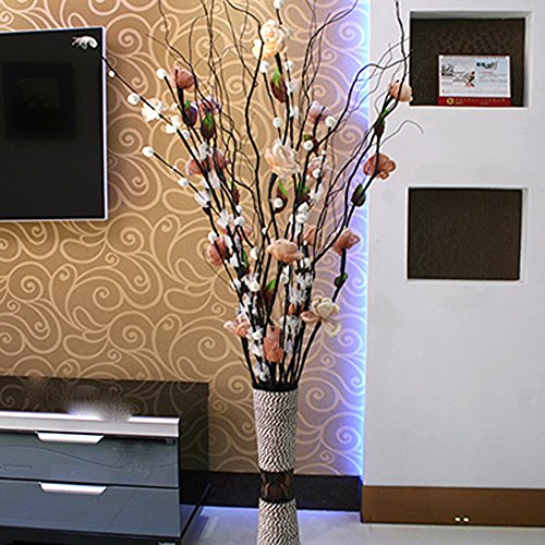 Artificial False Rose Silk Flowers Wedding Garden Decor Decoration White - 8
