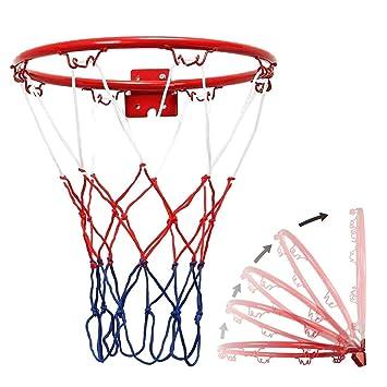 didatecar - Canasta de Baloncesto para Baloncesto, Red de aro y ...