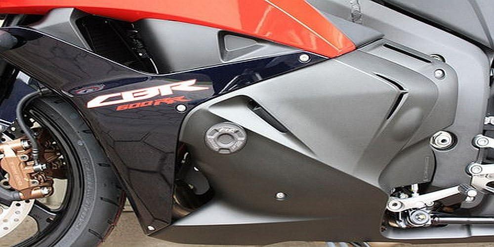Satz Gsg Moto Sturzpads Passend Für Die Honda Cbr 600 Rr Pc40 09 12 Auto