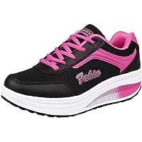 Schuhe Damen feiXIANG Turnschuhe Freizeitschuhe Mode Frauen Soft Erhöhen Chunky Schuhe