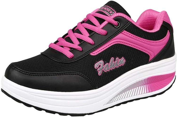 BaZhaHei-Zapatillas Calzado Deportivo de Mujer Zapatillas para ...