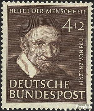 Prophila Brd Brdeutschland 143 1951 Helfer Der Menschheit Ii