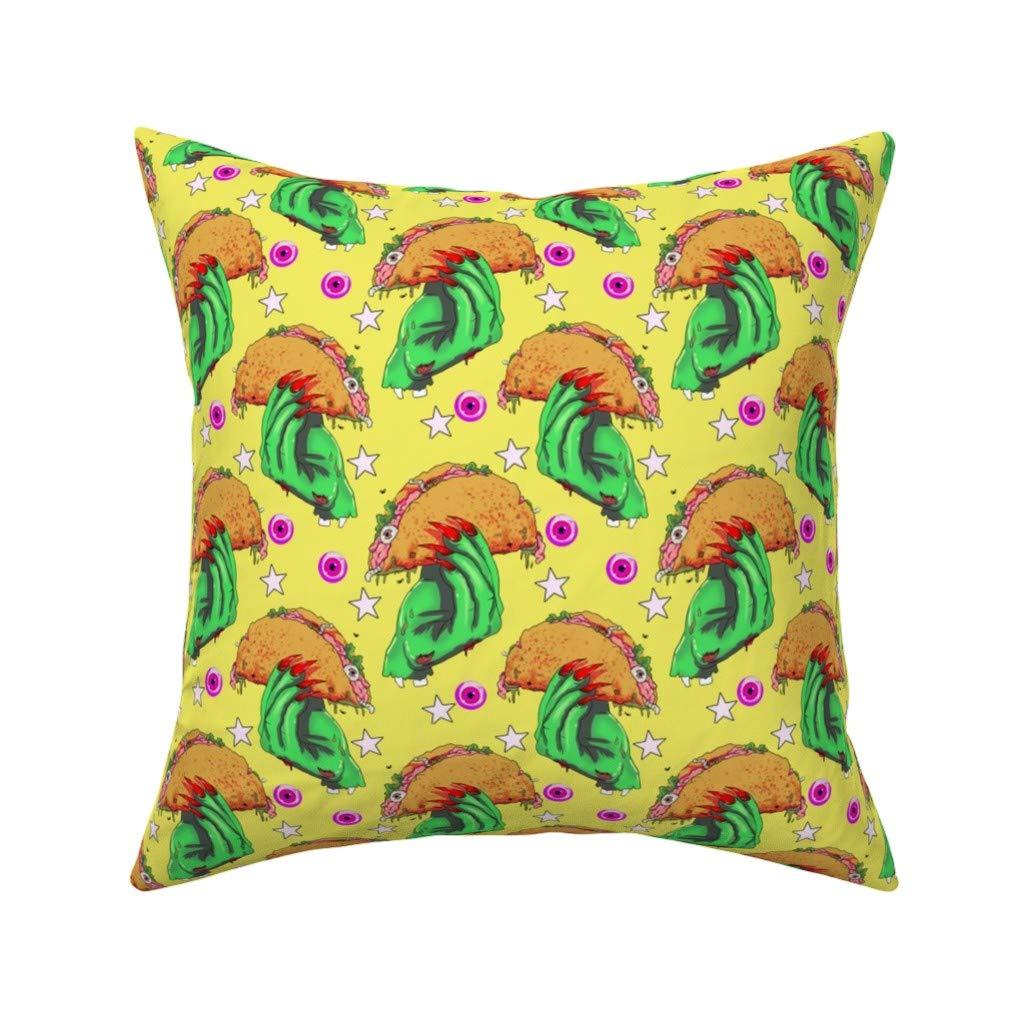 Amazon.com: PMNADOU Pillow,Zombie tacoSquare,Comfortable ...