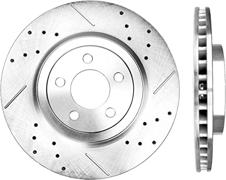 See Desc. Rotors Ceramic Pads F+R 2005 2006 Fit Chrysler 300 OE Replacement
