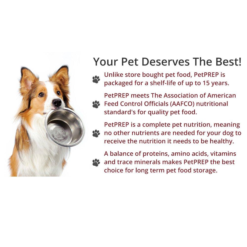 Amazon.com PetPREP Dry Dog Food 15 Year Shelf-Life Adult u0026 Puppy Emergency Dog Food Every Day Use (5.3-Gallon Bucket | 17lbs | 7.71kg) 1-Pack (1 ...  sc 1 st  Amazon.com & Amazon.com: PetPREP Dry Dog Food 15 Year Shelf-Life Adult u0026 Puppy ...