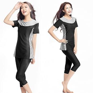 310a63008235d Women Plus Size Muslim Swimwear Beach Bathing Suit Muslimah Islamic Swimsuit  Swim Surf Burqini (XS