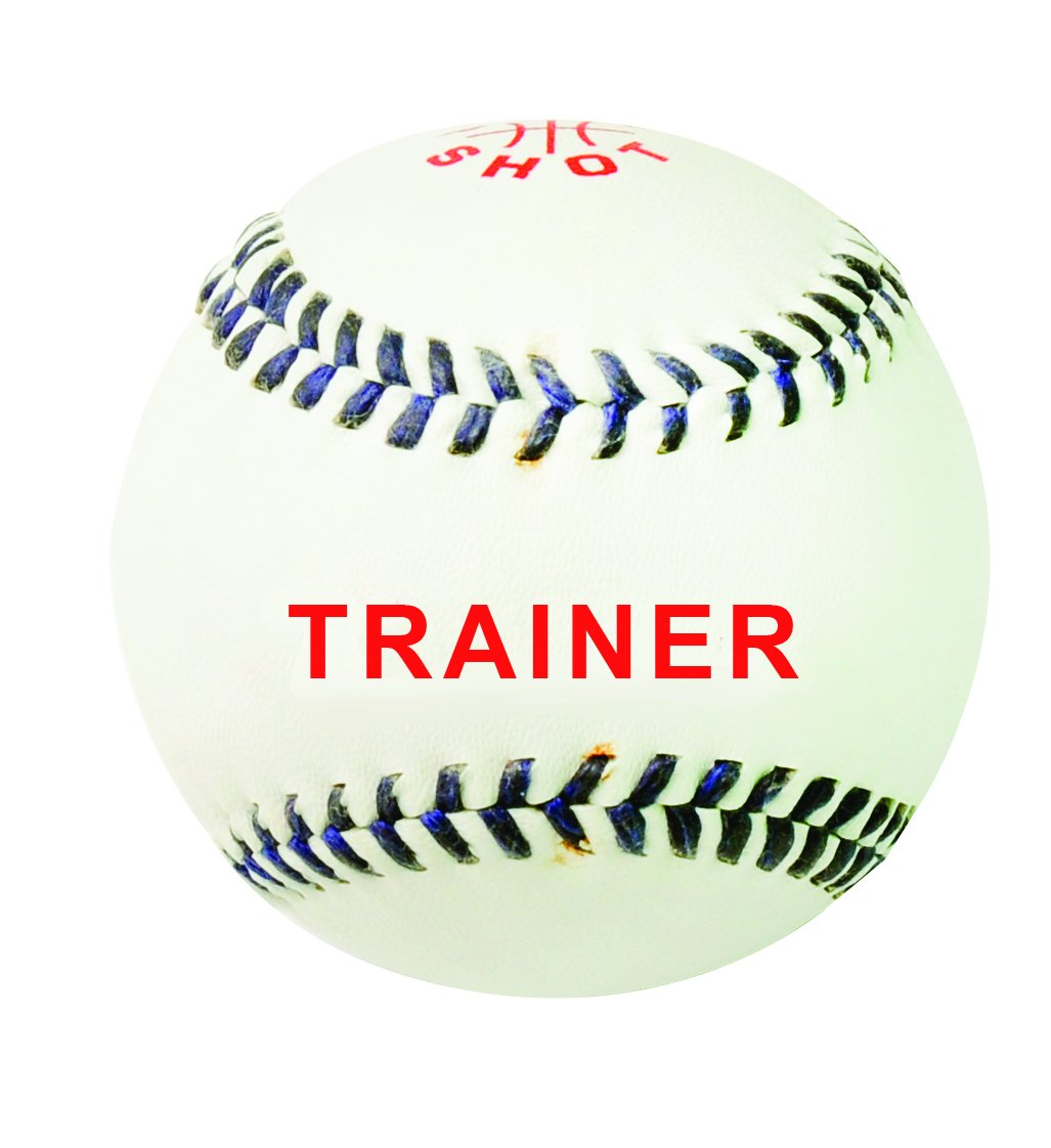 Sure Shot Trainer Rounders Ball - White
