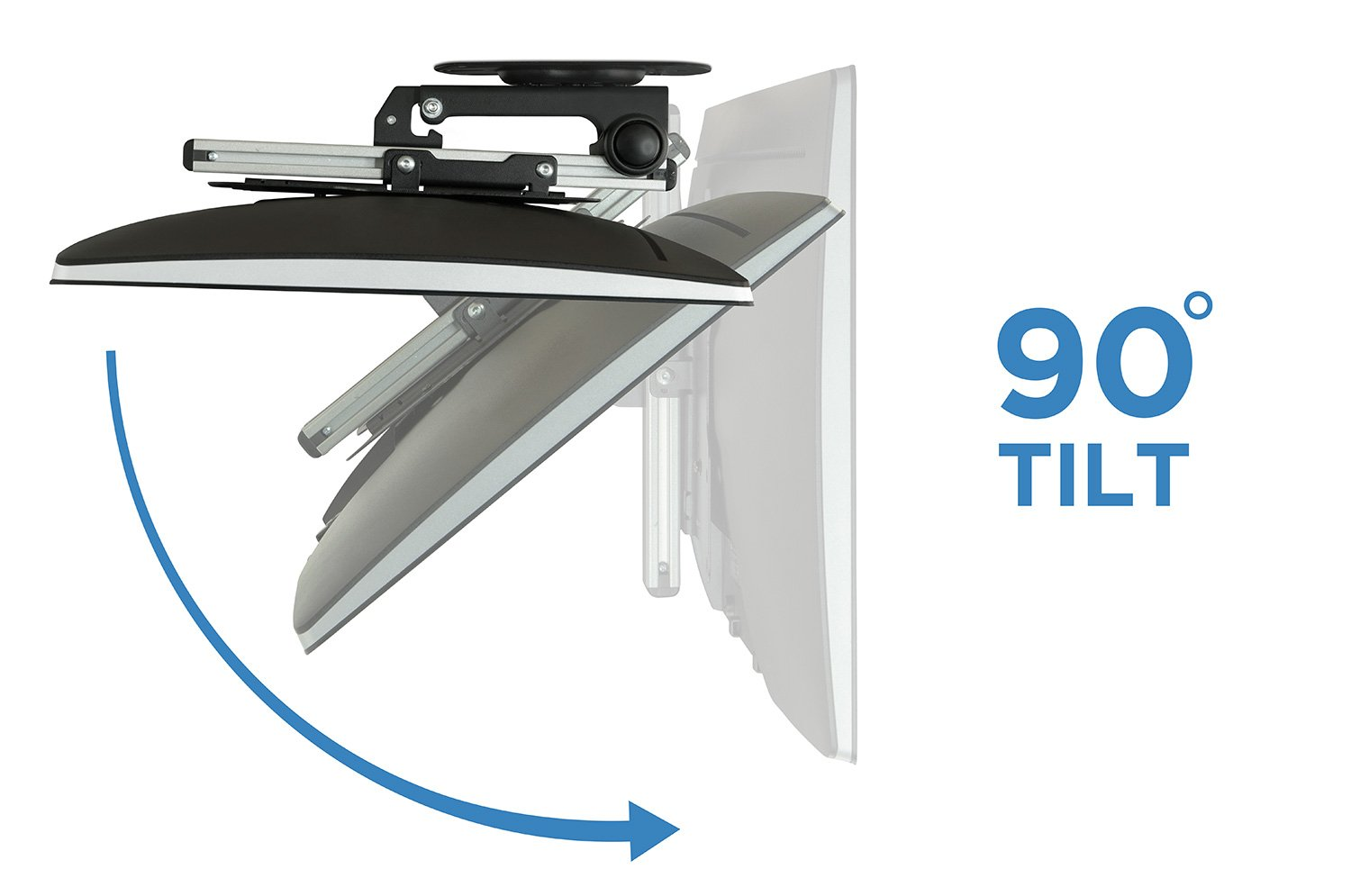Superieur Amazon.com: Mount It! MI 4222 TV Ceiling Mount Kitchen Under Cabinet TV  Bracket Folding, Retractable, 90 Degree Tilt, Fold Down, Swivel For 17 To  37 Inch ...