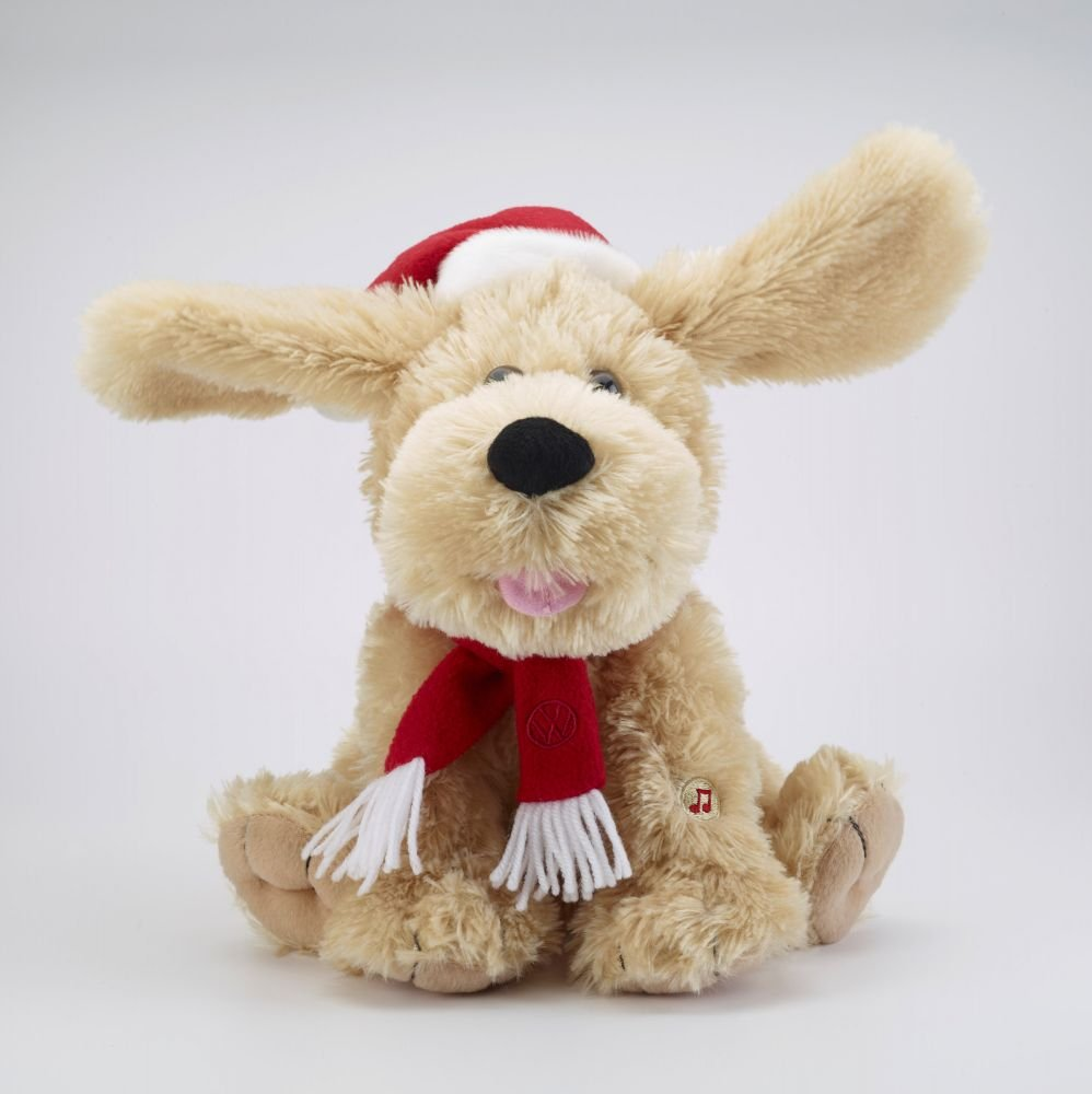 Plüschtier Singender Weihnachtshund: Amazon.de: Auto