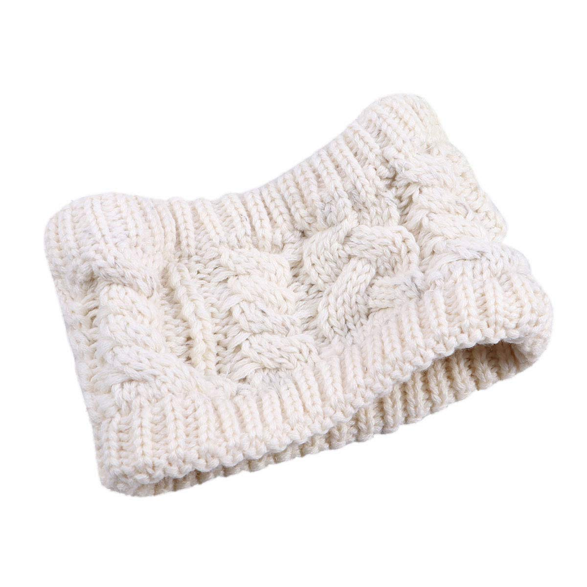 Knitted Headband Wide...