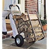 Rolling Log Cart With All-Weather Cover