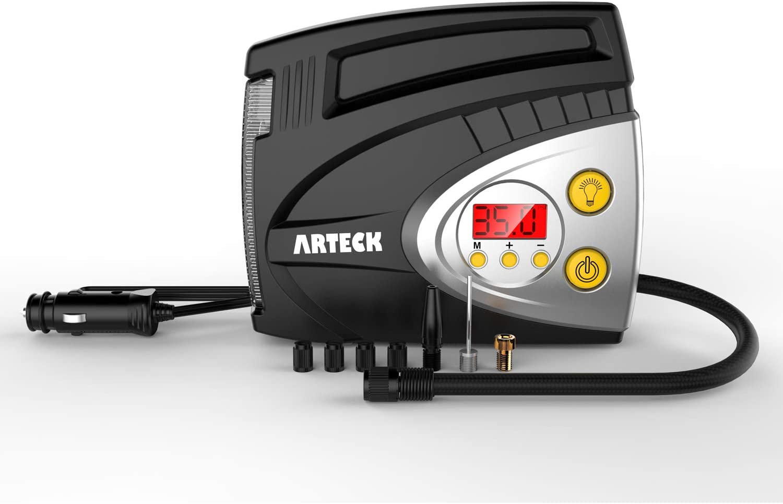 Digital Display Air Compressor Car Truck Electric Tire Inflator Pump 12V 120W