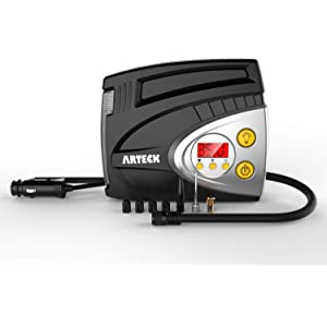 Amazon.com: Hidoll Bomba de aire portátil 150 PSI 12 V ...