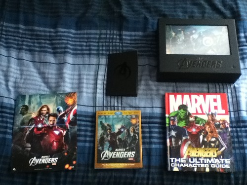 Marvel's The Avengers Amazing set for collectors or just anybody.
