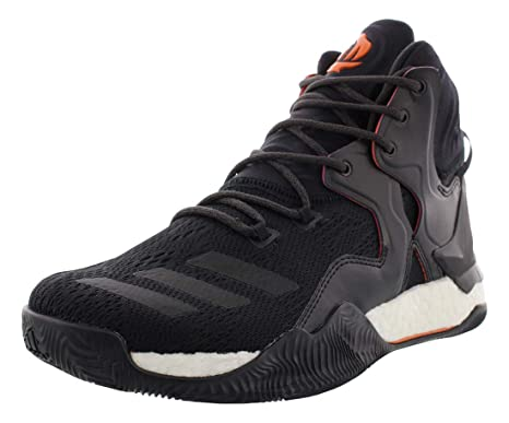 best service 5f66b 197b8 adidas D Rose 7 Primeknit Shoe Mens Basketball 8.5 Core Black-Orange