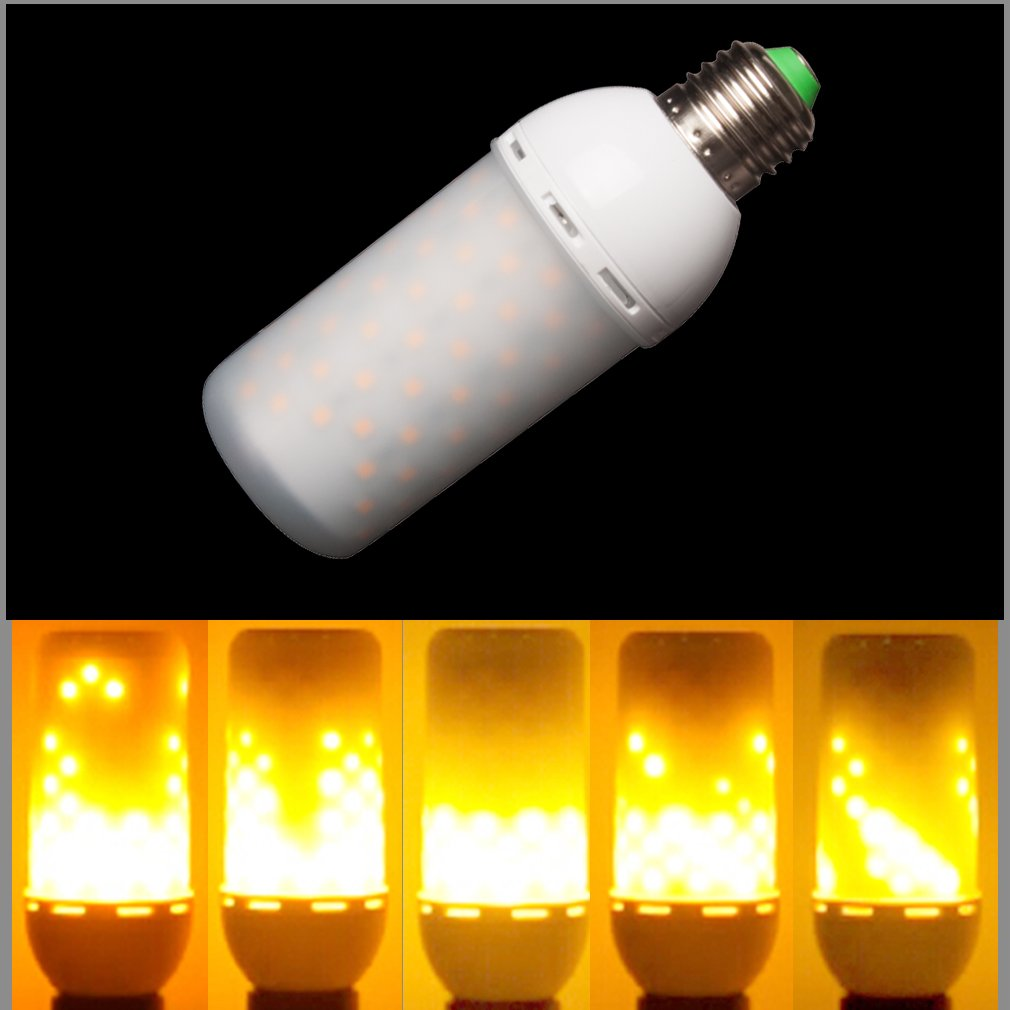 Led burning light flicker flame light bulb decorative lamps junolux led decorative light lamps flicker flame light bulb fire effect bulb decorative bulb fire simulation energy saving eco friendly outdoor decoration mozeypictures Gallery