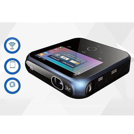Amazon.com: Pantalla de proyector portátil UBR Mini con ...