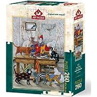 Art Puzzle 260 Parca Puzzle Renkli Kediler 4271