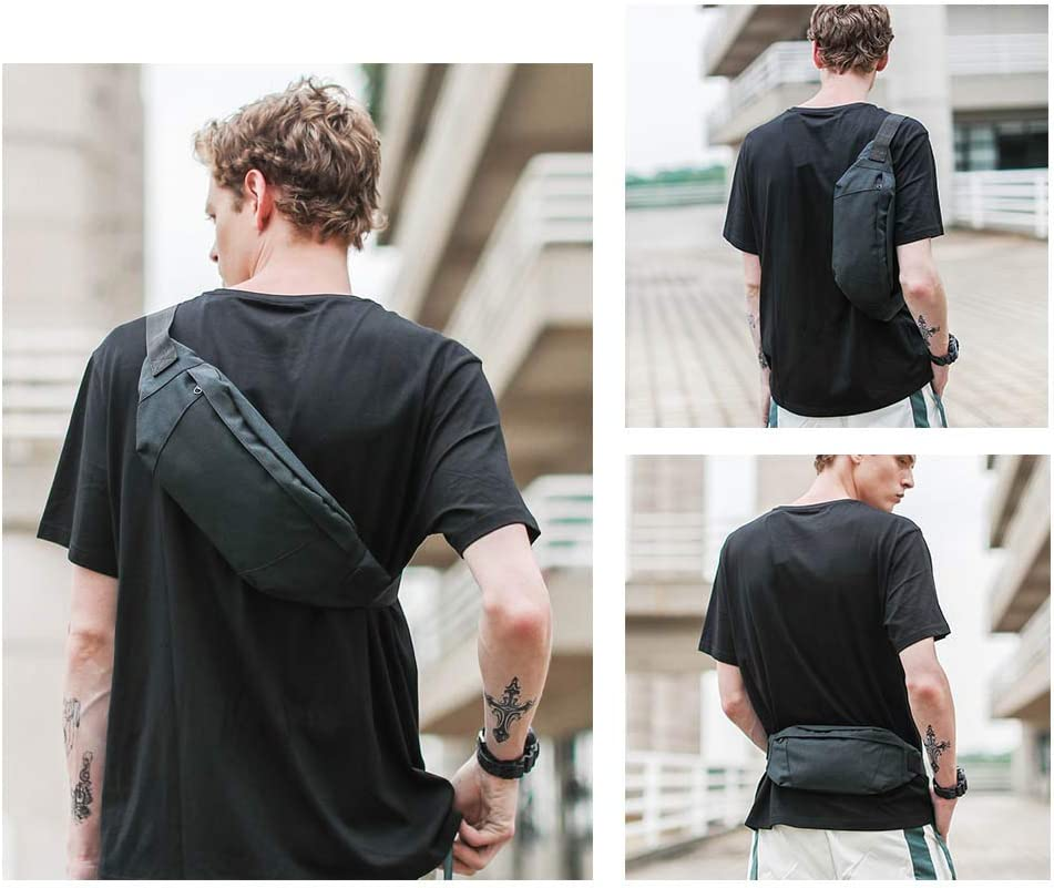 Slim Water Resistant Waist Bag Chest Sling Bag Hip Purse for Men Women Outdoors Running Hiking Carrying Phone Money /& Everyday Essentials GoFar Fanny Pack
