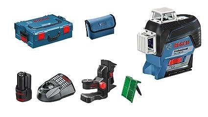 2ed41eea3beba4 Bosch Professional Line Laser Level GLL 3-80 CG (App, Green Laser, 1 ...
