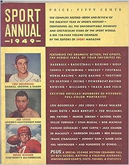 Sport Annual Magazine 1949 (Lou Boudreau/Joe Louis/Doak