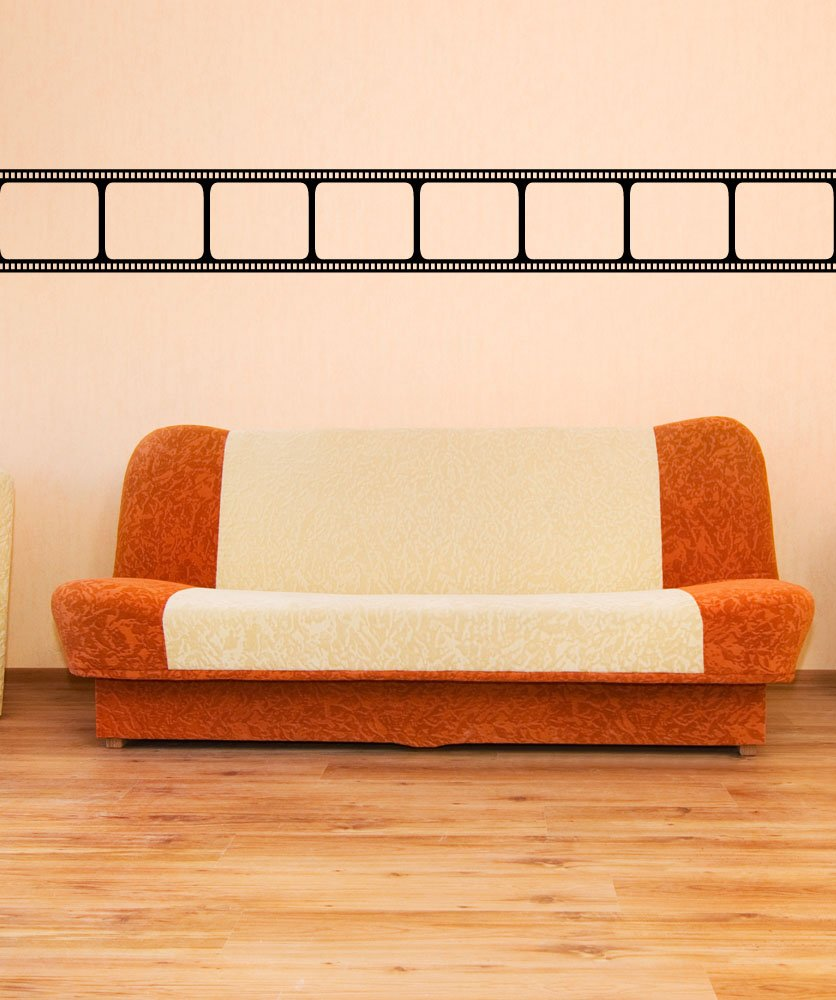Amazon.com: Black Movie Film Strip Wall Decal Sticker Decor by ...
