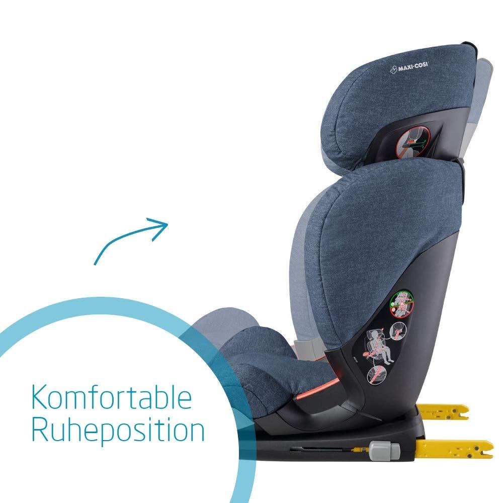 optimaler Seitenaufprallschutz schwarz Kindersitz Maxi Cosi RodiFix AirProtect 15-36 kg 3,5-12 Jahre nomad black Gruppe 2//3 AP ISOFIX-Sitzerh/öhung