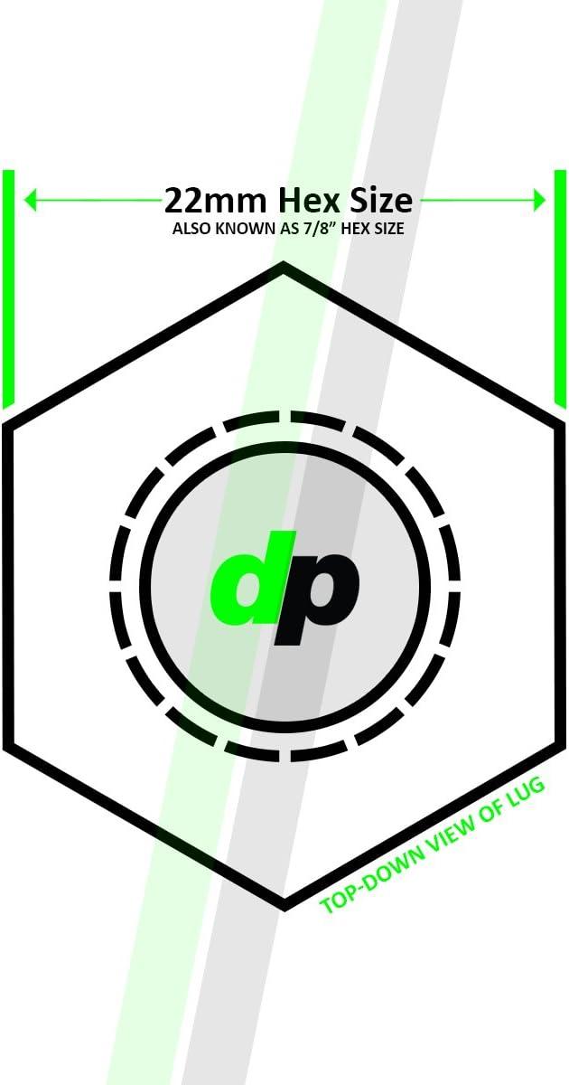 Replaces GM 15646250 DPAccessories CC-4D-P-OCH05001 One New Chrome Plastic Wheel Lug Nut Cap Dorman 99956 Wheel Lug Nut Cap