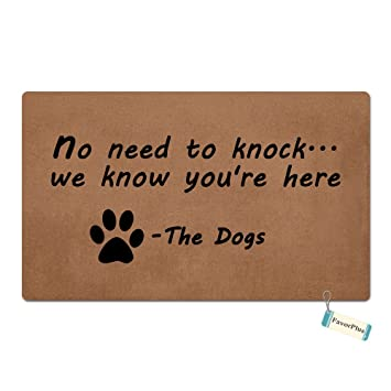 amazon com favorplus no need to knock we know you re here funny