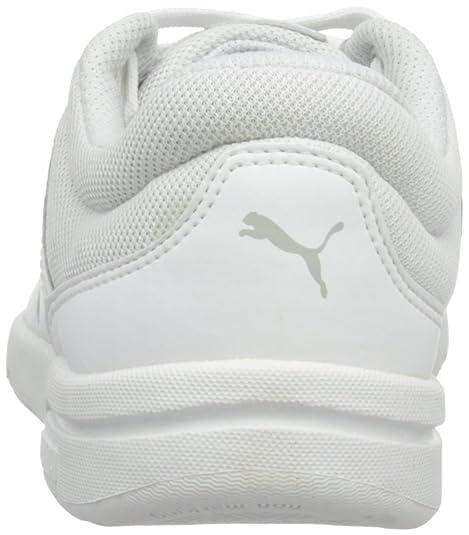 Puma Stepfleex, Unisex-Child Trainers, White/Grey Violet, 3.5 UK:  Amazon.co.uk: Shoes & Bags